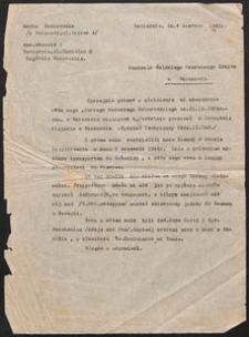 [Pismo Marii Zaborowskiej do Centrali Polskiego Czerwonego Krzyża w Warszawie]