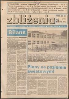 Zbliżenia : tygodnik społeczno-polityczny, 1986, nr 36