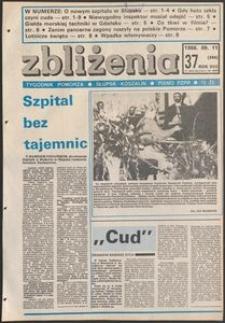 Zbliżenia : tygodnik społeczno-polityczny, 1986, nr 37