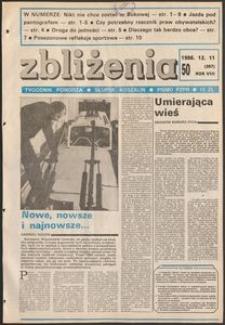 Zbliżenia : tygodnik społeczno-polityczny, 1986, nr 50