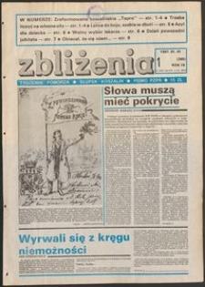 Zbliżenia : tygodnik społeczno-polityczny, 1987, nr 1
