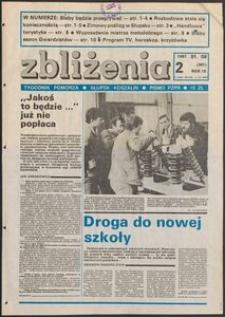 Zbliżenia : tygodnik społeczno-polityczny, 1987, nr 2