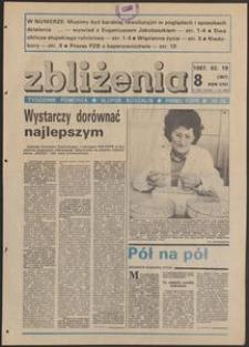 Zbliżenia : tygodnik społeczno-polityczny, 1987, nr 8