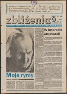 Zbliżenia : tygodnik społeczno-polityczny, 1987, nr 9