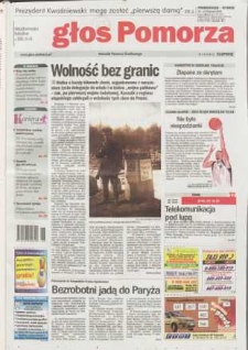 Głos Pomorza, 2003, listopad, nr 262