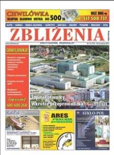 Zbliżenia : dwutygodnik regionalny, 2011, nr 15