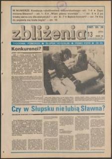 Zbliżenia : tygodnik społeczno-polityczny, 1987, nr 13