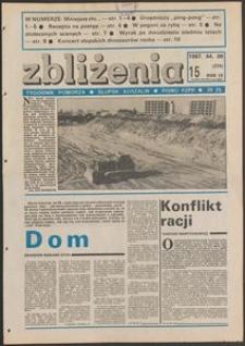 Zbliżenia : tygodnik społeczno-polityczny, 1987, nr 15