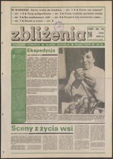Zbliżenia : tygodnik społeczno-polityczny, 1987, nr 16