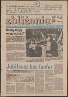 Zbliżenia : tygodnik społeczno-polityczny, 1987, nr 25