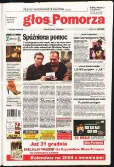 Głos Pomorza, 2003, grudzień, nr 300