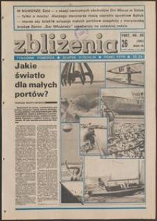 Zbliżenia : tygodnik społeczno-polityczny, 1987, nr 26