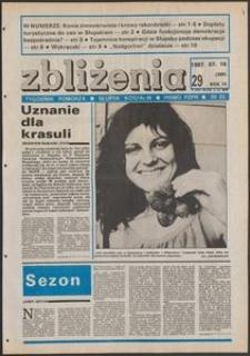 Zbliżenia : tygodnik społeczno-polityczny, 1987, nr 29