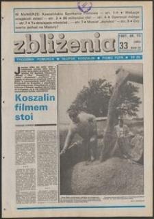 Zbliżenia : tygodnik społeczno-polityczny, 1987, nr 33