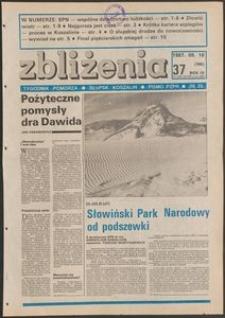 Zbliżenia : tygodnik społeczno-polityczny, 1987, nr 37