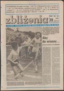 Zbliżenia : tygodnik społeczno-polityczny, 1987, nr 39
