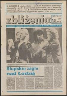 Zbliżenia : tygodnik społeczno-polityczny, 1987, nr 40