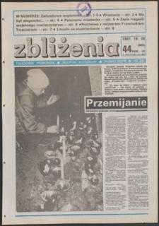 Zbliżenia : tygodnik społeczno-polityczny, 1987, nr 44