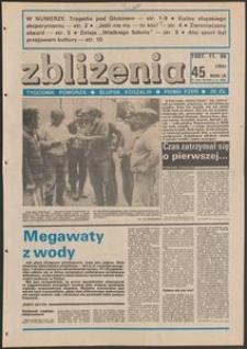 Zbliżenia : tygodnik społeczno-polityczny, 1987, nr 45