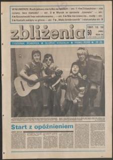 Zbliżenia : tygodnik społeczno-polityczny, 1987, nr 50