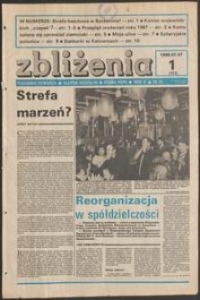 Zbliżenia : tygodnik społeczno-polityczny, 1988, nr 1