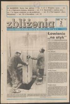 Zbliżenia : tygodnik społeczno-polityczny, 1988, nr 2