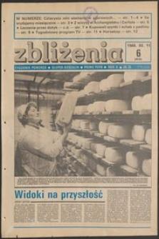 Zbliżenia : tygodnik społeczno-polityczny, 1988, nr 6