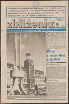 Zbliżenia : tygodnik społeczno-polityczny, 1988, nr 9