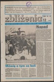 Zbliżenia : tygodnik społeczno-polityczny, 1988, nr 12