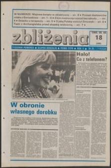 Zbliżenia : tygodnik społeczno-polityczny, 1988, nr 18