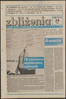 Zbliżenia : tygodnik społeczno-polityczny, 1988, nr 24