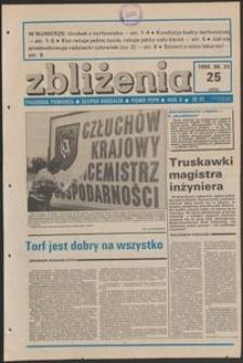 Zbliżenia : tygodnik społeczno-polityczny, 1988, nr 25