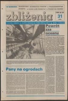 Zbliżenia : tygodnik społeczno-polityczny, 1988, nr 31