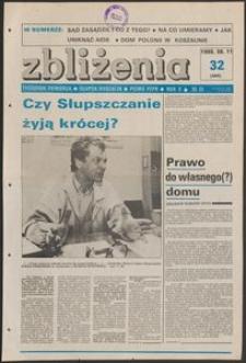 Zbliżenia : tygodnik społeczno-polityczny, 1988, nr 32