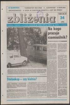 Zbliżenia : tygodnik społeczno-polityczny, 1988, nr 34