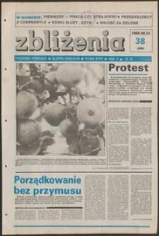 Zbliżenia : tygodnik społeczno-polityczny, 1988, nr 38
