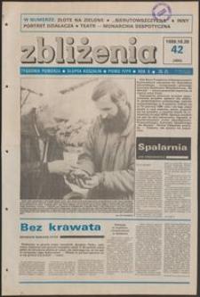 Zbliżenia : tygodnik społeczno-polityczny, 1988, nr 42
