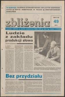 Zbliżenia : tygodnik społeczno-polityczny, 1988, nr 49