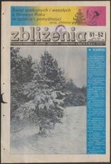Zbliżenia : tygodnik społeczno-polityczny, 1988, nr 51/52