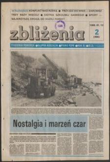 Zbliżenia : tygodnik społeczno-polityczny, 1989, nr 2