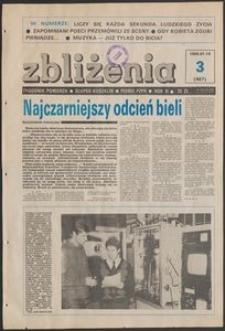 Zbliżenia : tygodnik społeczno-polityczny, 1989, nr 3