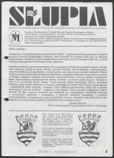 Słupia. Biuletyn Stowarzyszenia Przyjaciół Muzeum Pomorza Środkowego w Słupsku, 2001, nr 1