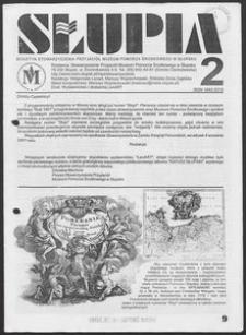 Słupia. Biuletyn Stowarzyszenia Przyjaciół Muzeum Pomorza Środkowego w Słupsku, 2001, nr 2