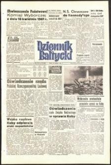 Dziennik Bałtycki, 1961, nr 93