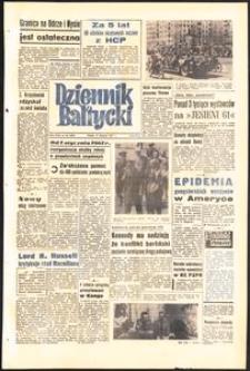 Dziennik Bałtycki, 1961, nr 191