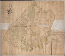 Plan von der Stadt-Hüthung der Aucker genannt nach verschiedenen Classen der darinn enthaltenen Hüthung ausser dem Streitigen Theile desselben