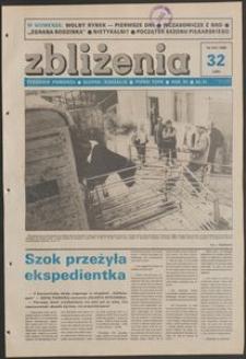 Zbliżenia : tygodnik społeczno-polityczny, 1989, nr 32