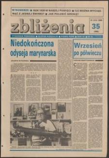 Zbliżenia : tygodnik społeczno-polityczny, 1989, nr 35