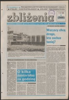 Zbliżenia : tygodnik społeczno-polityczny, 1989, nr 36