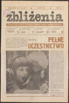 Zbliżenia : tygodnik społeczno-polityczny, 1981, nr 6